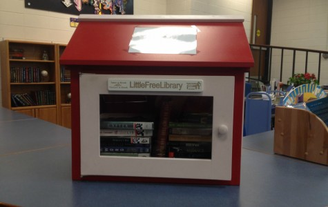 Take a book, leave a book at Little Free Library