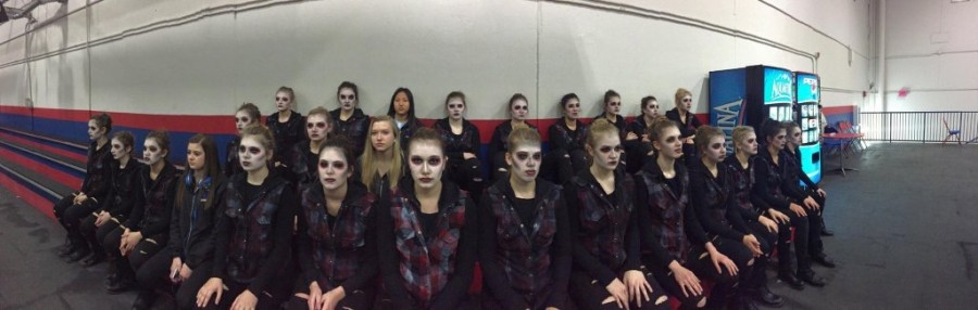 Poms got second at State