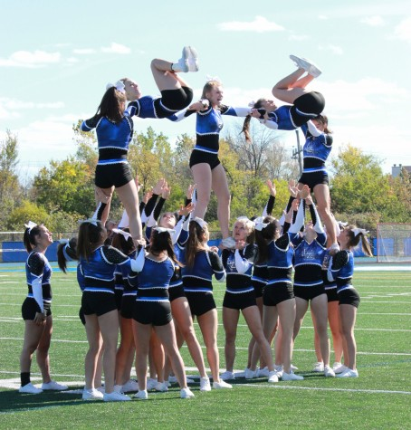 Cheerleaders start season with first, third place wins at weekend competition