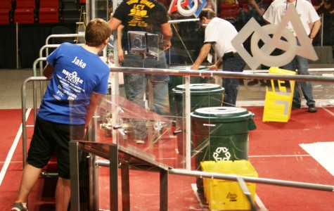 Robotics challenges regional competition