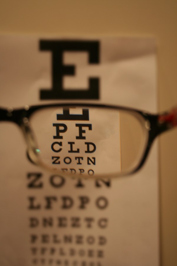 By 2050 half of the population is expected to wear glasses. Dut to staring at things, like phones or iPads up-close, peoples vision is worsening.