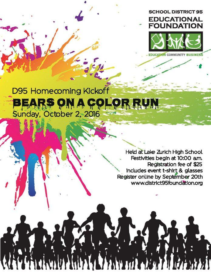 Bears on a Color Run