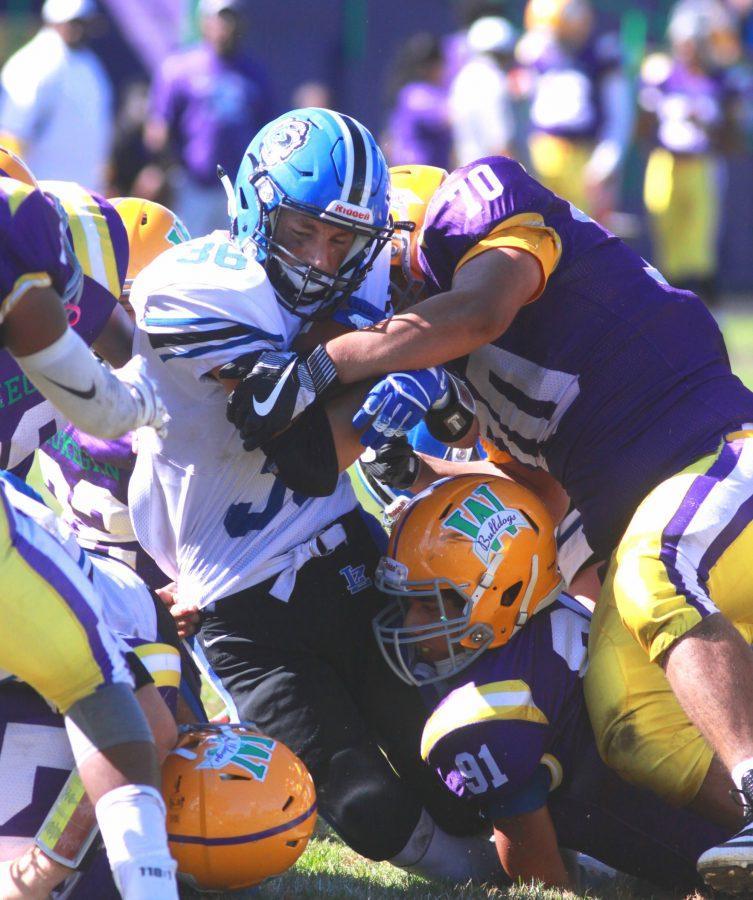 Football bounces back with big win over Waukegan