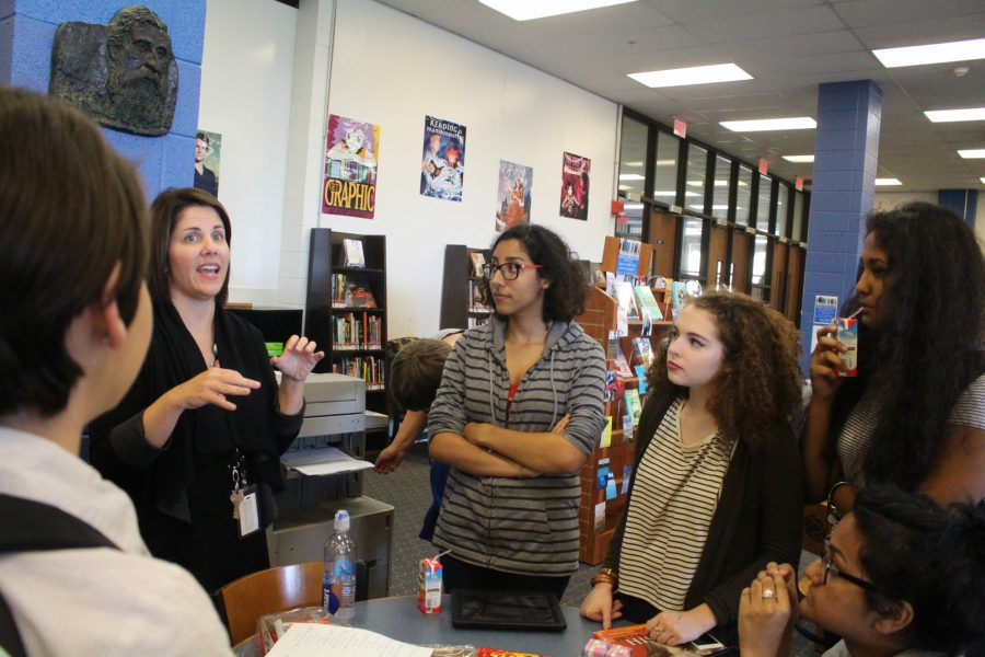 Poetry club hopes to become official club