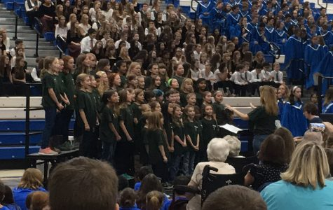 Singing is a reCHOIRment: LZHS hosts the annual District Choral Festival