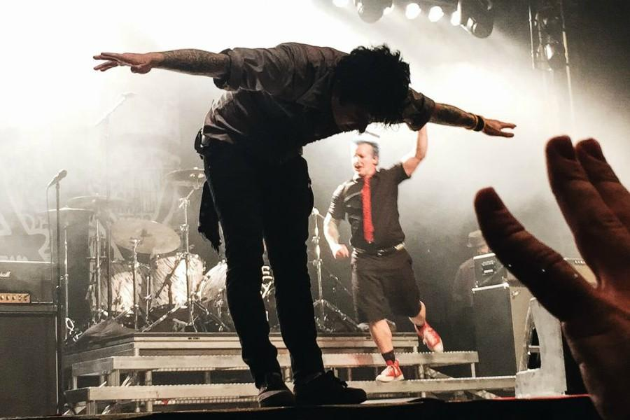 After releasing their new album, Green Day performed at the Argon Ballroom. Sisters Shreya and Ria Talukder got to experience the concert live.
