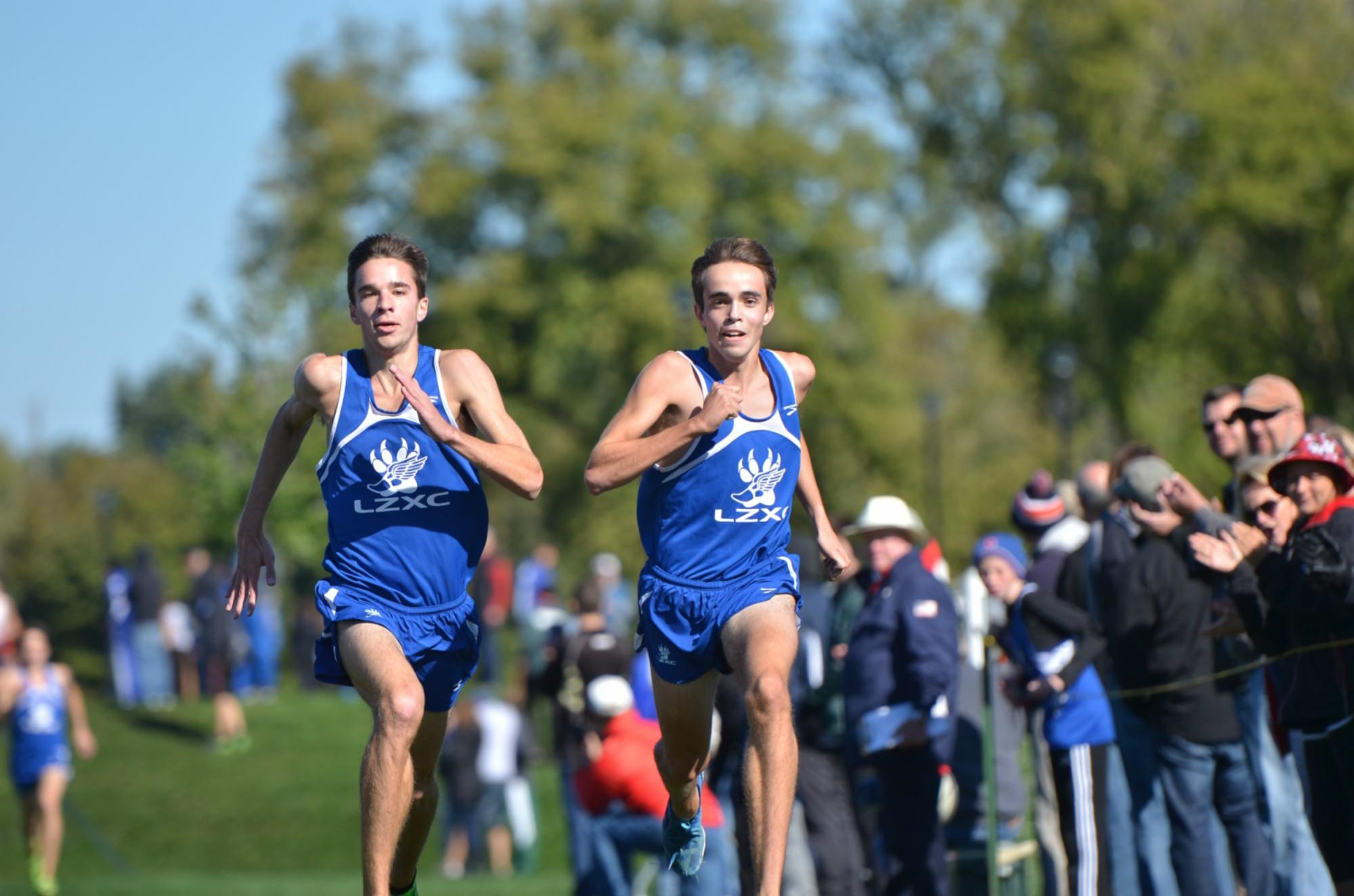Brian Griffith and Matt Periera, seniors, are the first non-siblings to qualify to nationals from the same team in over 30 years. The teammates will compete at the Foot Locker Nationals Saturday at 10am in San Diego, California.