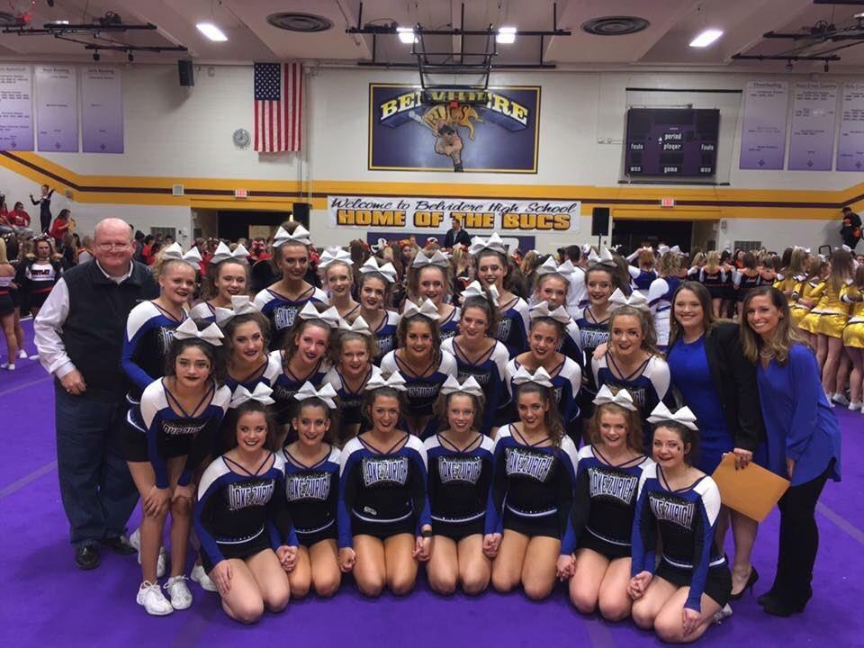 Lake Zurich Varsity Cheerleading takes third at Sectionals this weekend -- qualifying them for state.