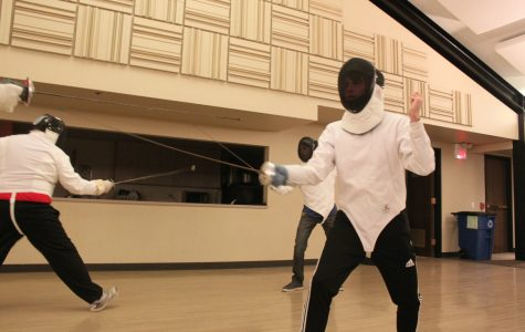 An ancient art: one senior's passion for fencing