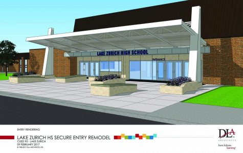 Starting this summer, the building will undergo renovations, including a new main entrance. The entrance will make the building more secure, according to Ryan Rubenstein, assistant principal for activities and facilities.