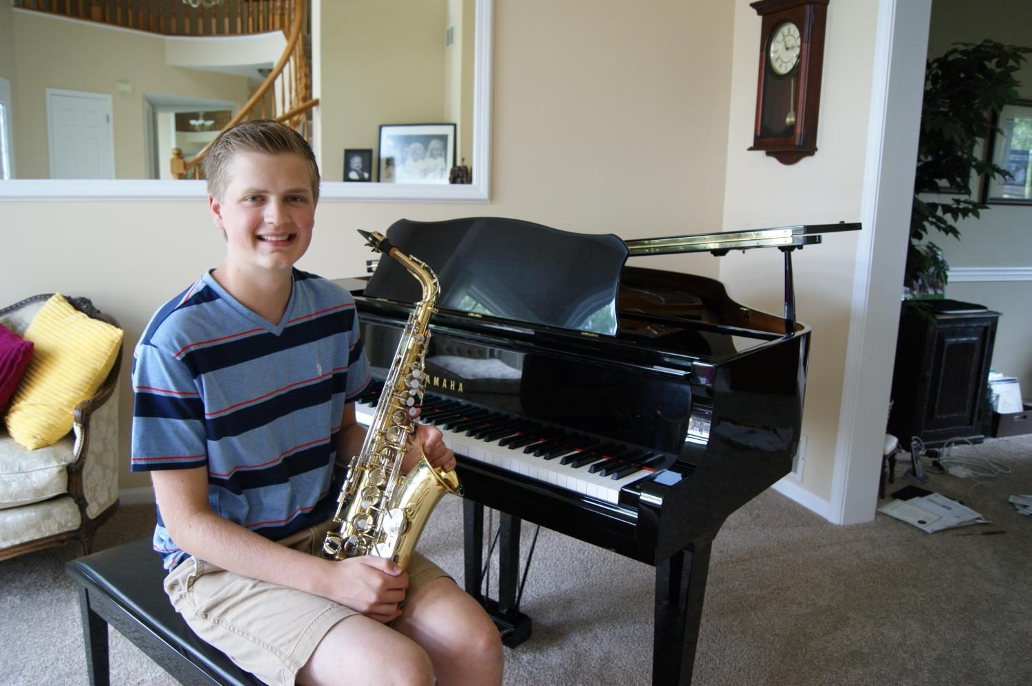 Key to Happiness: how one senior uses his creativity to excel in music