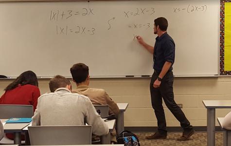 A new addition: math department adds a new teacher