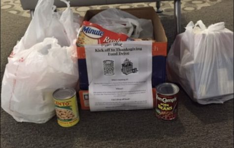 The gift that keeps on giving: NHS hosts food drive for local food pantry