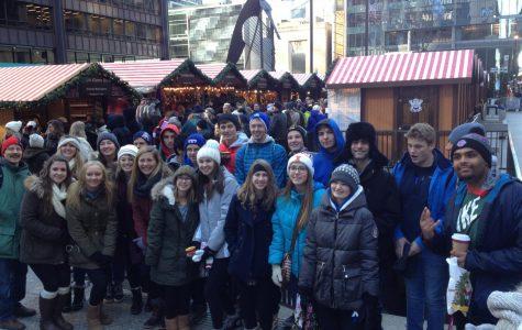 A taste of Germany: German IV class visits Christkindlmarkt