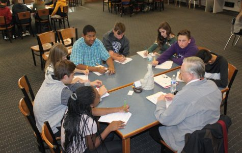 Learning from the experts: World Cultures classes takes a field trip to the library