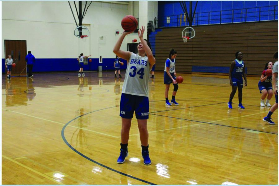 Shooting for the score at the height of her career