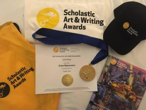 Not common: one student's journey to Scholastic Art and Writing Awards