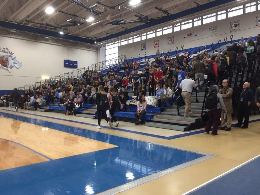 School, community recognize State champion Poms team