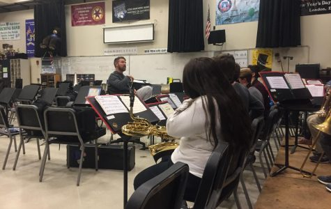 Jazz Band holds event preparing and fundraising for upcoming New Orleans trip