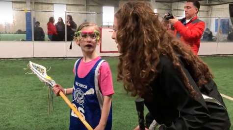 Girl Scout Gold Award youth girls' lacrosse clinic teaches sisterhood, skills