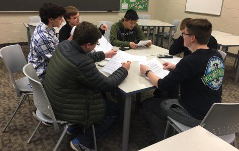 The best squadratic in school: math team