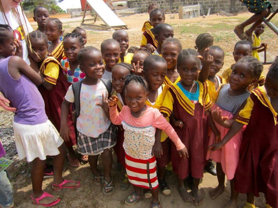 Kits for Kidz: one student's dedication to helping schoolchildren in Liberia