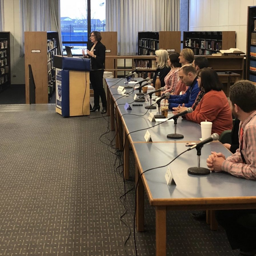 "The ""Convapersation"" in the library served as a way to inform parents about the new rising epidemic known as vaping. The event had a panel of expert speakers who answered questions and gave information on the topic."