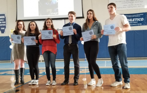 Spring assembly honors academic, athletic, artistic awards