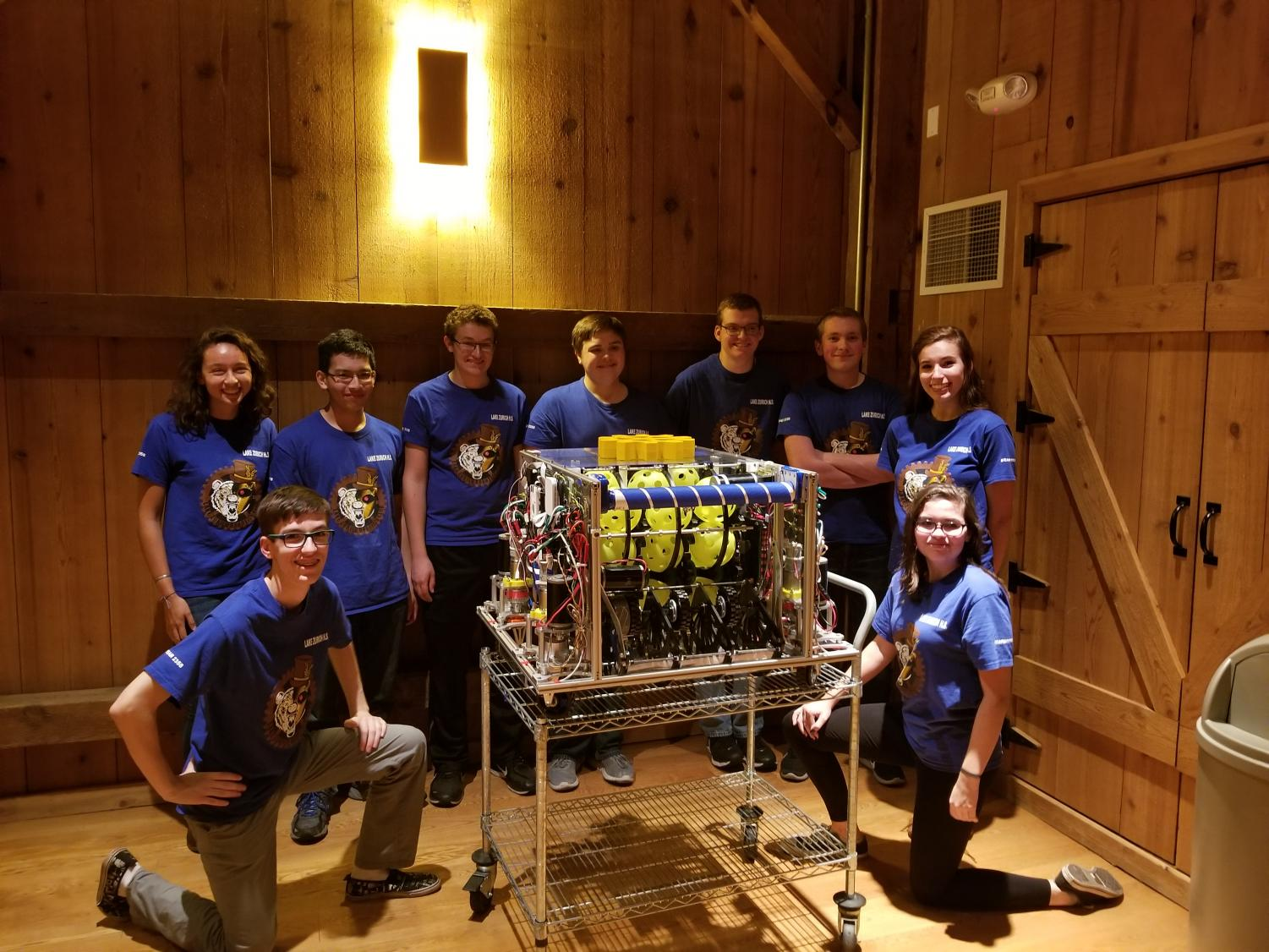 The Robotics team builds a  robot every year. The team has accomplished many goals they created this year.