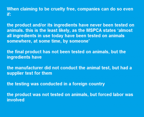 It was Ellis's video on cruelty-free products that initially got Katz interested in the subject, as it opened her eyes to the idea that not all 'cruelty ...