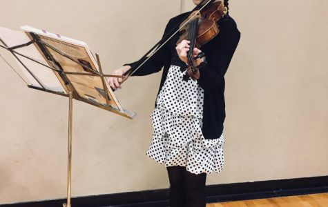 Four instruments and a dream: freshman sets sights on the future