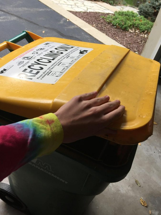 Students often see recycling bins at home and school, but this recycling may not be enough. Several students are pushing for composting programs that would decrease wastefulness in the cafeteria.