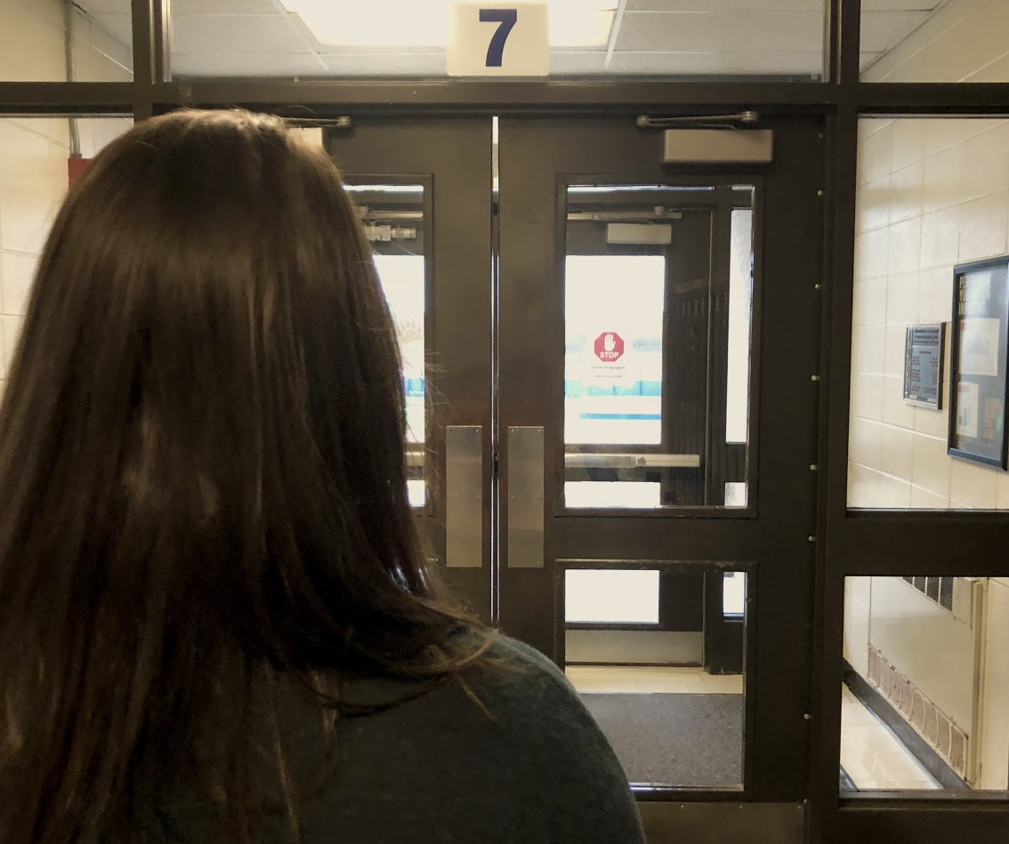 The senior doors have been closed and students are concerned with the change in policy, including Mckenna Walsh, junior. What was the reason for this change? Officer Stone explains why.
