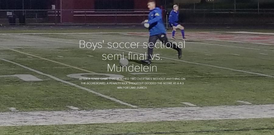 LZHS boys soccer defeats Mundelein 4-3 in penalty kicks