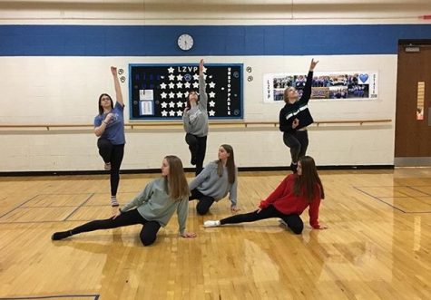 LZHS hosts Poms Competition