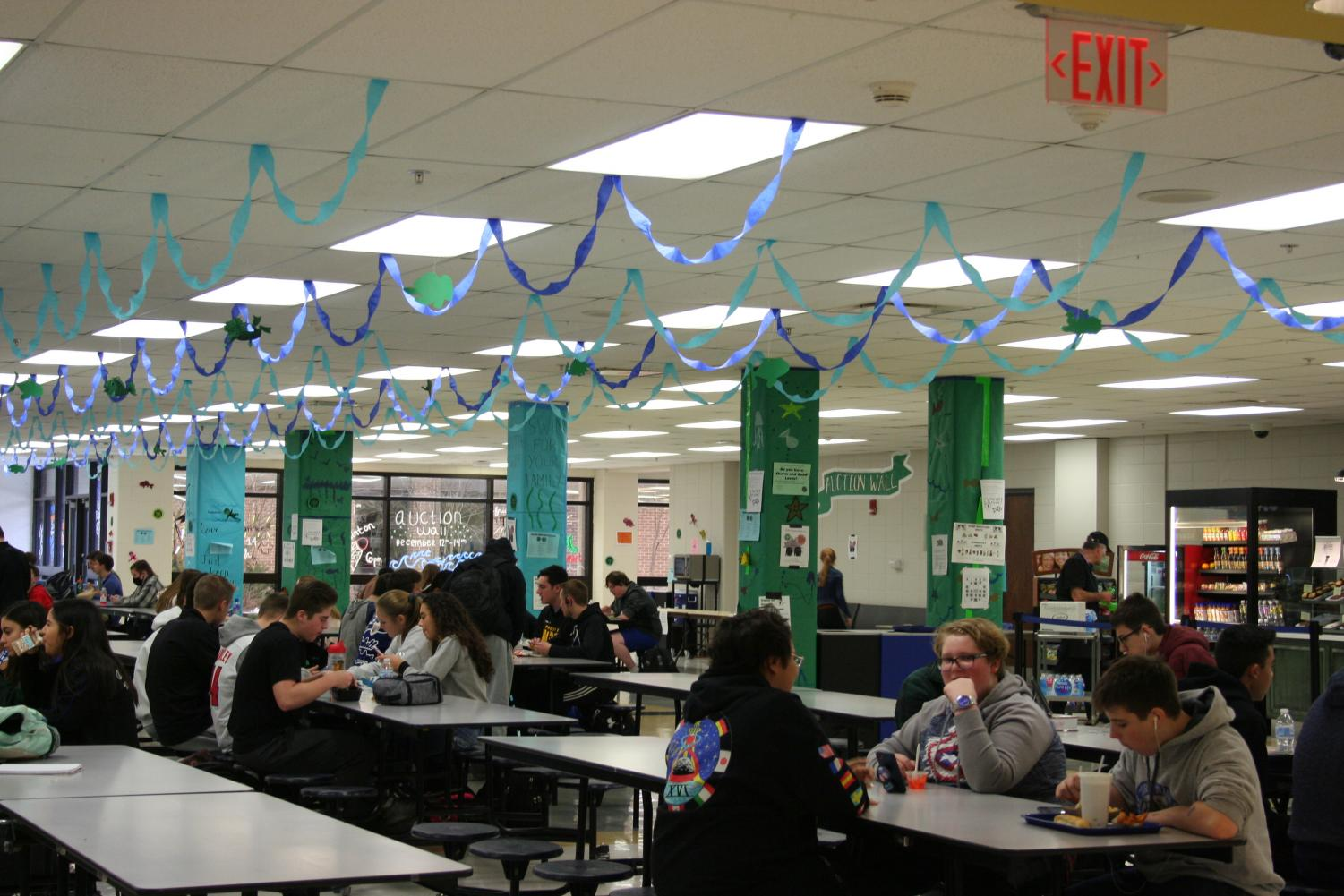 The cafeteria at school contains many different food options for students to choose from, some of which are healthy and some of which are not. However, according to Elizabeth Garcia, health teacher, it is up to the consumer to decide how healthy they would like to eat.