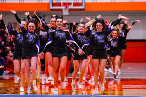 Cheer to compete in back to back competitions
