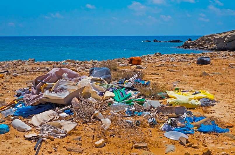 Plastic+and+other+trash+sits+on+a+%22waste+beach.%22+Scientists+estimate+that+by+2050+there+will+be+more+plastic+in+the+ocean+than+fish%2C+but+how+can+we+as+teens+even+help+change+this%3F