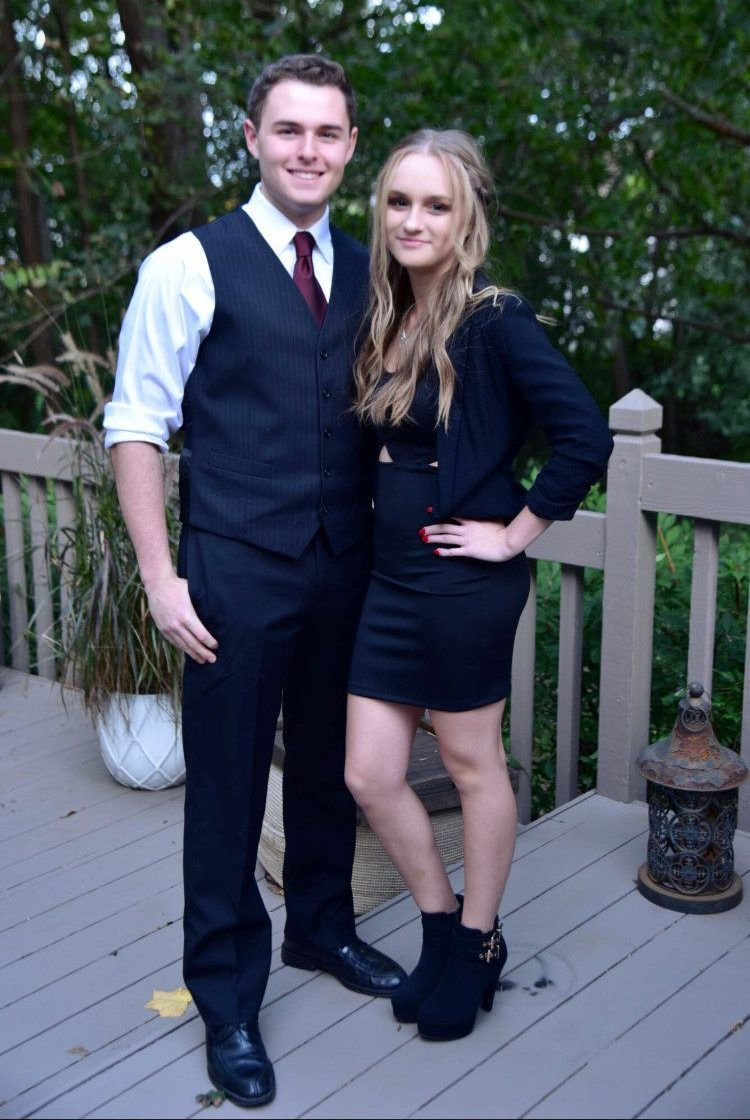 Edyta Kardasz, senior, went to all four years of homecoming and went with her boyfriend Luke Cillessen, 2019 graduate, as a junior. This year is the last, but she says plans to make it count once again.
