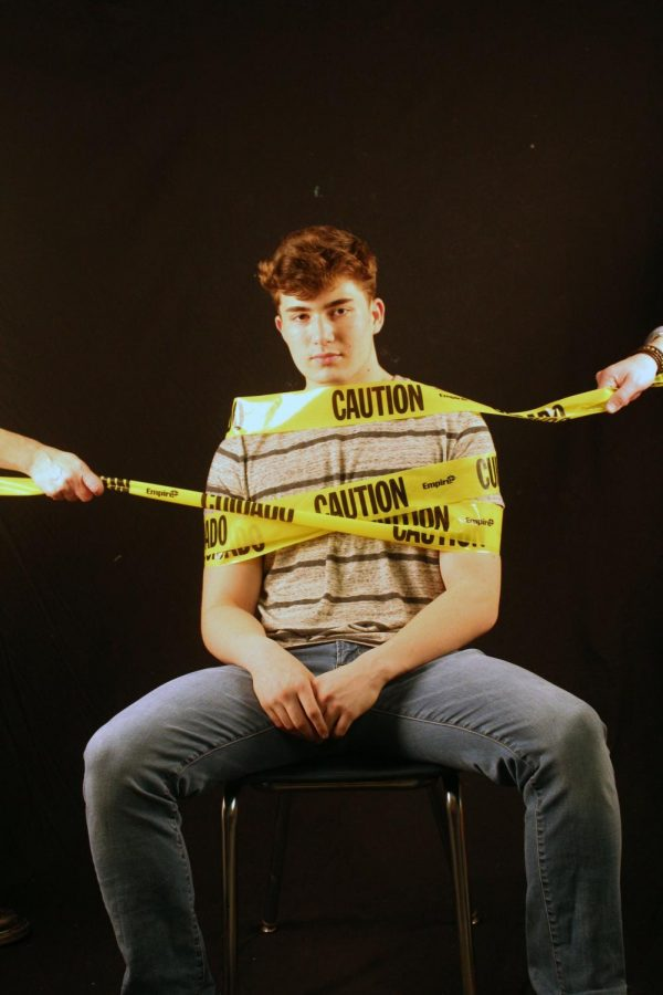 Tied up in caution tape: overprotective parenting causes students to feel restricted.