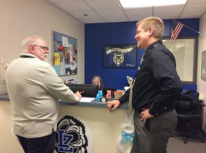 District hires interim principal after Vossel resigns