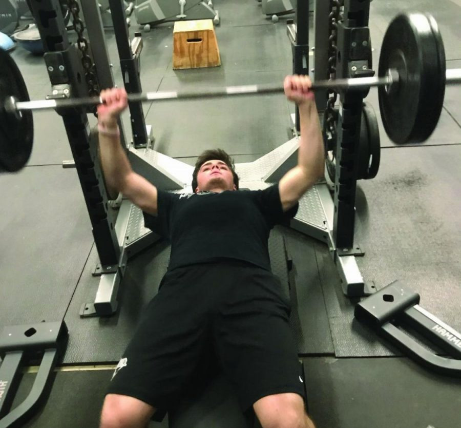 DeLuga trains in the off-season by conditioning, weightlifting, and doing core work. He believes his training has been beneficial for his success in baseball.