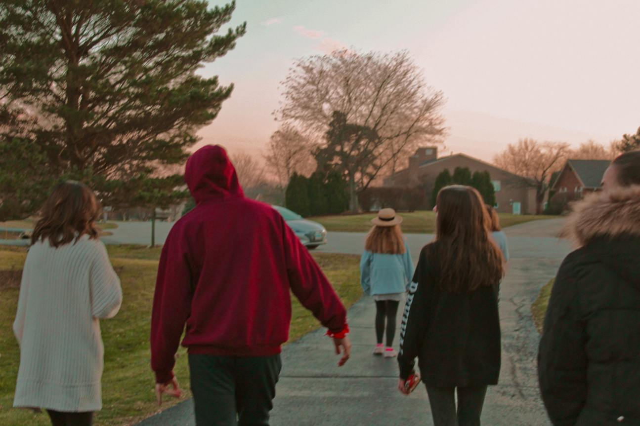 """With the combination of middle schools, new friends are made. With similar interests, a """"family"""" of the closest friends can be created, where they can cheer you up through difficult times."""