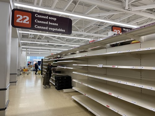As panic buying becomes an ongoing problem in Lake Zurich, empty shelves have become a common scene in grocery stores. Karlie Schwichtenberg, junior whose family has struggled getting items at stores, says this hoarding is ridiculous and dangerous.