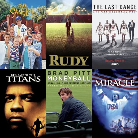Sports are on hiatus for the moment, but that does not mean you cannot get your sports fix! Many sports movies are available on the most popular streaming platforms and ready to watch.