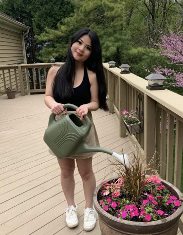 Despite her senior year getting cut short due to the pandemic, Donna Nguyen, senior, has found some light in the situation. She has been finding ways to keep busy and productive during quarantine.