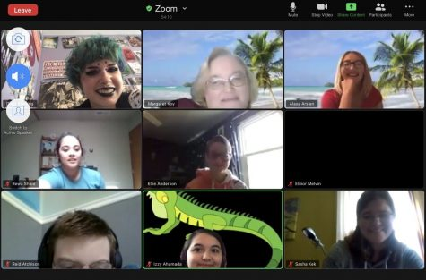 GSA/Spectrum meetings are held over zoom as clubs shift to remote meeting.