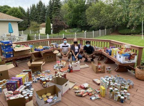 Along with tutoring numerous students, Tutor4Service also gave back to the community through a food drive, according to Aiman Naqvi, Daniel Kalarical.