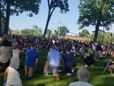 During a tumultuous summer, hundreds gathered at Breezewald Park to honor the memory of George Floyd and show support for the Black Lives Matter movement. Rallies like this one, honoring the movement and educating people on the importance of the movement, are only the first step towards greater equality.