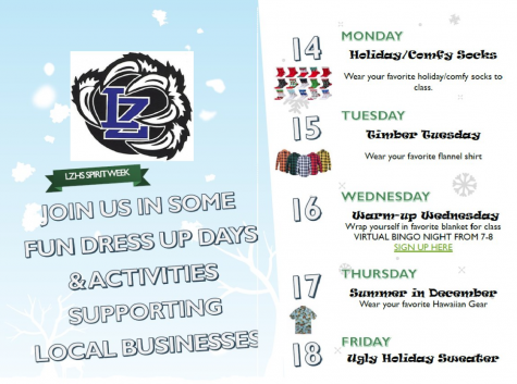 Spirit Week keeps holiday cheer in the air